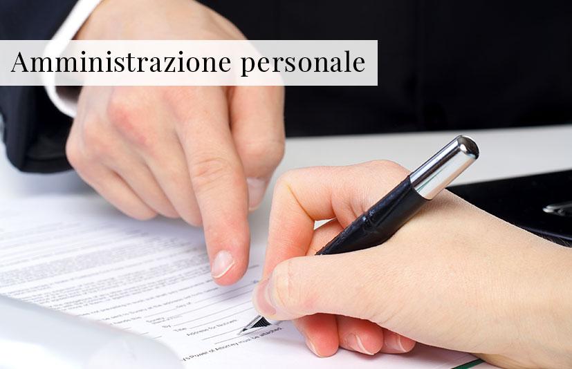 Amministrazione personale