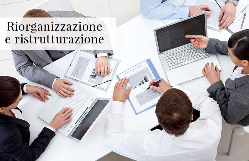 Riorganizzazione e ristrutturazione