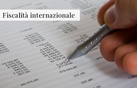 Fiscalità Internazionale